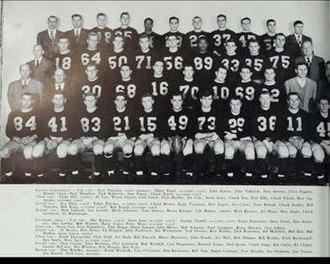 1949 Illinois Fighting Illini football team - Image: 1949 Illinois Fighting Illini football team