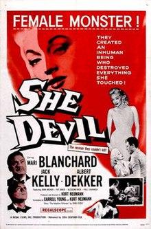 1957 She Devil Small Poster