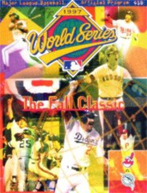 1997 World Series - Image: 1997 World Series program