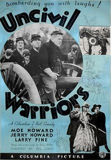 <i>Uncivil Warriors</i> 1935 film by Del Lord