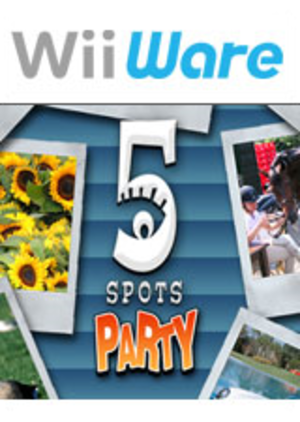 5 Spots Party - Image: 5 Spots Party Coverart