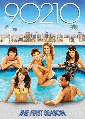 90210 (season 1) - DVD cover