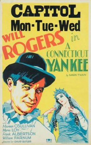 A Connecticut Yankee (film) - Theatrical Poster