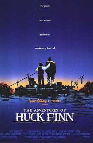 The Adventures of Huck Finn (1993 film) - Theatrical release poster