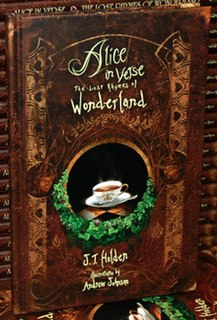 <i>Alice in Verse: The Lost Rhymes of Wonderland</i> book by J.T. Holden