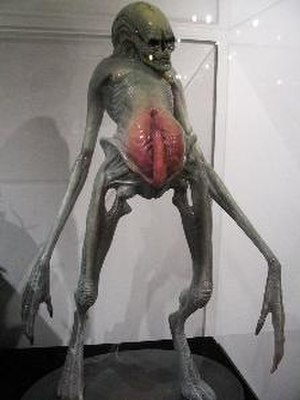 Alien Resurrection - The original design of the human/Alien hybrid included a mix of female and male sex organs, which were removed during post-production