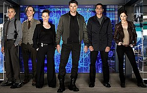 Almost Human (TV series) - The main cast of Almost Human