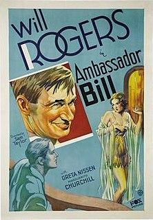 <i>Ambassador Bill</i> 1931 film by Sam Taylor
