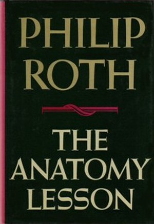 The Anatomy Lesson (Roth novel) - First edition cover