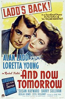 <i>And Now Tomorrow</i> 1944 film by Irving Pichel