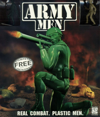 Army Men (video game) - British Game Boy Color cover