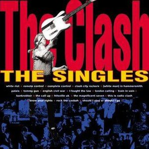 The Singles (1991 The Clash album) - Image: Asgfea