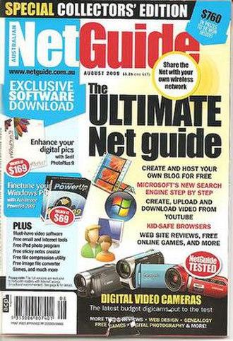 Australian NetGuide - Image: Australian Netguide Cover August 2009