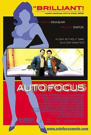 Auto Focus - Theatrical release poster