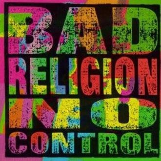 No Control (Bad Religion album) - Image: Bad Religion No Control