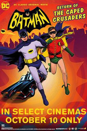 Batman: Return of the Caped Crusaders - Theatrical release poster