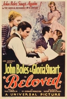 Beloved 1934 poster.jpg