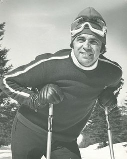 André Bertrand (alpine skier) Canadian alpine skier