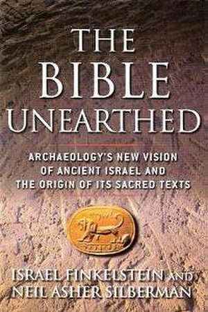 The Bible Unearthed - Dust-jacket for The Bible Unearthed