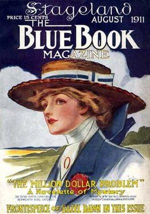 Blue Book (magazine) - Image: Blue Book 1911 08