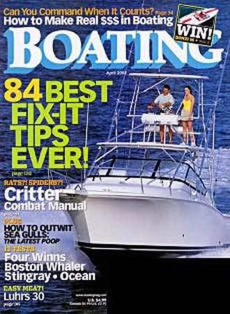 Boating (magazine) - Image: Boating magazine