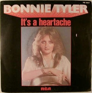 It's a Heartache - Image: Bonnie Tyler IAH single