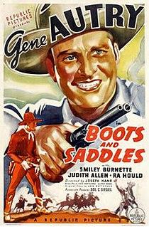 <i>Boots and Saddles</i> (film) 1936 film by Joseph Kane