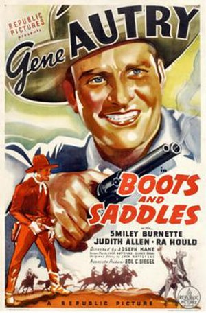 Boots and Saddles (film) - Image: Boots and Saddles 1937 Poster