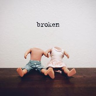 Broken (Lovelytheband song) - Image: Broken (lovelytheband song)