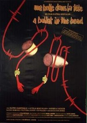 A Bullet in the Head (1990 film) - Film poster