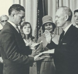 C. Farris Bryant - C. Farris Bryant being sworn in as governor of Florida