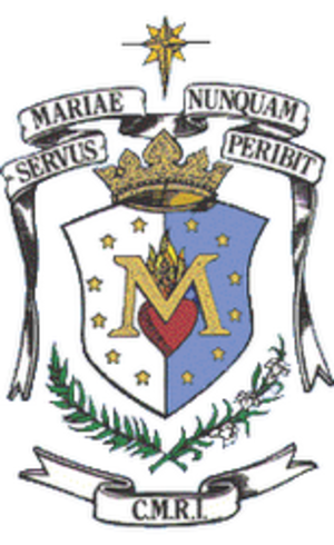 Congregation of Mary Immaculate Queen - Image: CMRI Coat Of Arms