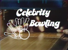 """Celebrity Bowling"" title card"