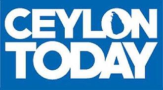 Ceylon Today - Image: Ceylontoday