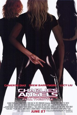 Charlie's Angels: Full Throttle - Theatrical release poster