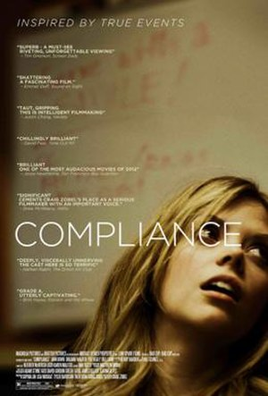 Compliance (film) - Theatrical release poster