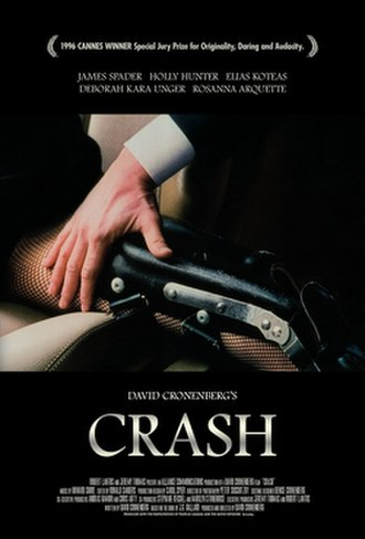 Crash (1996 film) - Home video poster
