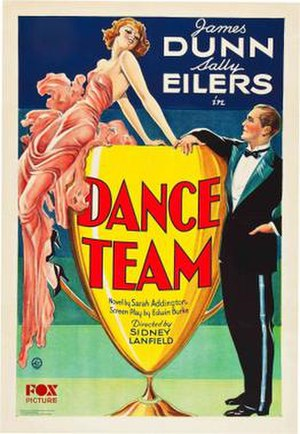 Dance Team (film) - Theatrical release poster