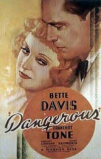 <i>Dangerous</i> (film) 1935 American drama film starring Bette Davis directed by Alfred Edward Green