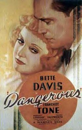 Dangerous (film) - Theatrical release poster
