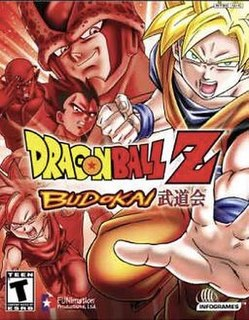 <i>Dragon Ball Z: Budokai</i> (video game) 2002 video game