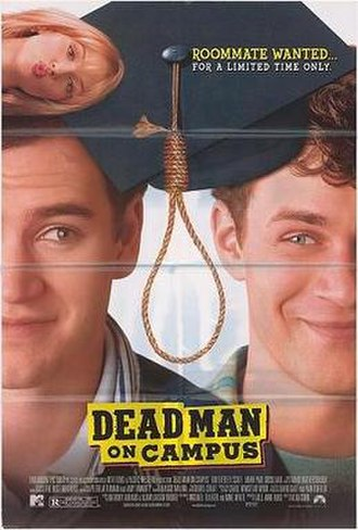 Dead Man on Campus - Theatrical release poster