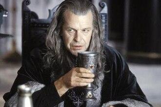Denethor - John Noble as Denethor in Peter Jackson's The Lord of the Rings: The Return of the King