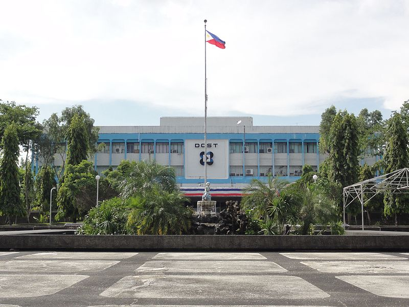 File:Deptartment Of Science And Technology (Dost) - Main Bldg. Front (Gen. Santos Ave., Bicutan, Taguig; 2015-07-02).jpg