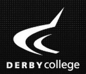 Derby College - Image: Derb Col Logo