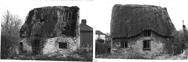 Derelict Thatched Cottage 1963
