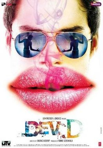 Dev.D - Theatrical release poster