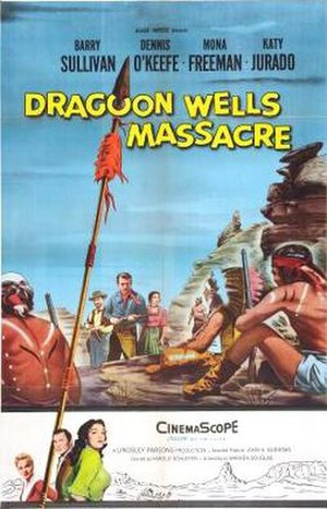 Dragoon Wells Massacre - Theatrical release poster