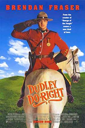 Dudley Do-Right (film) - Theatrical release poster