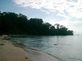 Ritchie's Archipelago - Image: Elephant Beach, Havelock Island